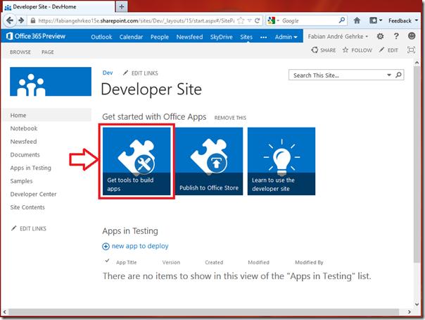 Desenvolvendo Apps Online para o SharePoint 2013 (1/6)