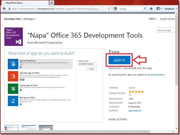 Desenvolvendo Apps Online para o SharePoint 2013 (2/6)
