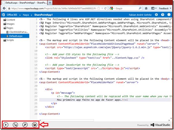 Desenvolvendo Apps Online para o SharePoint 2013 (6/6)