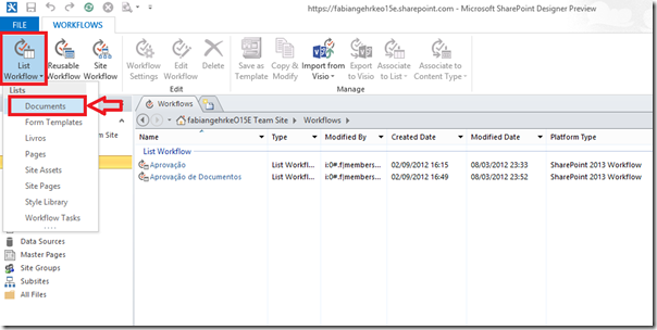 Criando Workflows Complexos no SharePoint Designer 2013 (1/6)