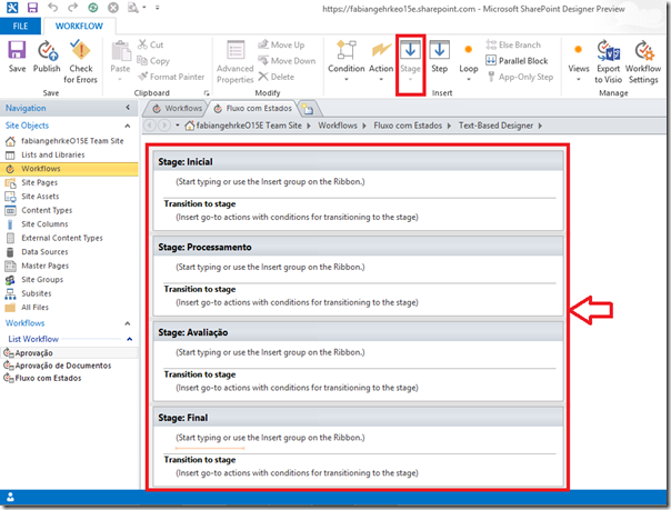 Criando Workflows Complexos no SharePoint Designer 2013 (3/6)