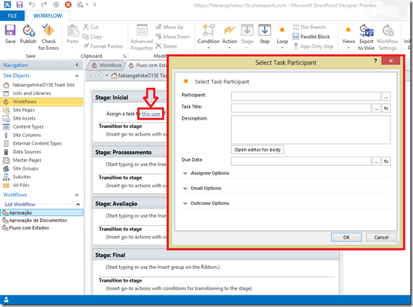 Criando Workflows Complexos no SharePoint Designer 2013 (5/6)