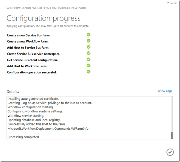 Configurando o SharePoint 2013 para Hospedar Workflows com o Novo Engine (5/6)